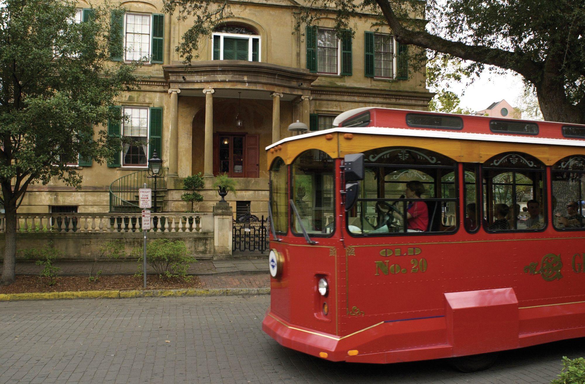 Savannah Historic District Trolley Tour